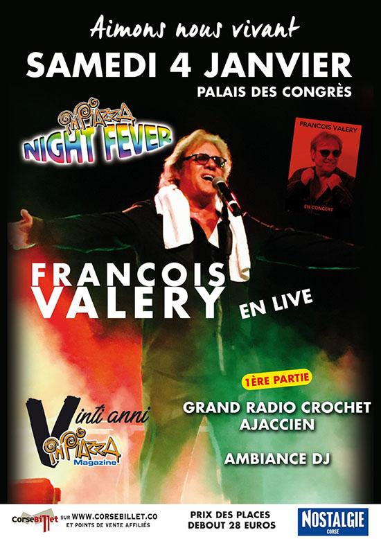 Concert François Valery à Ajaccio
